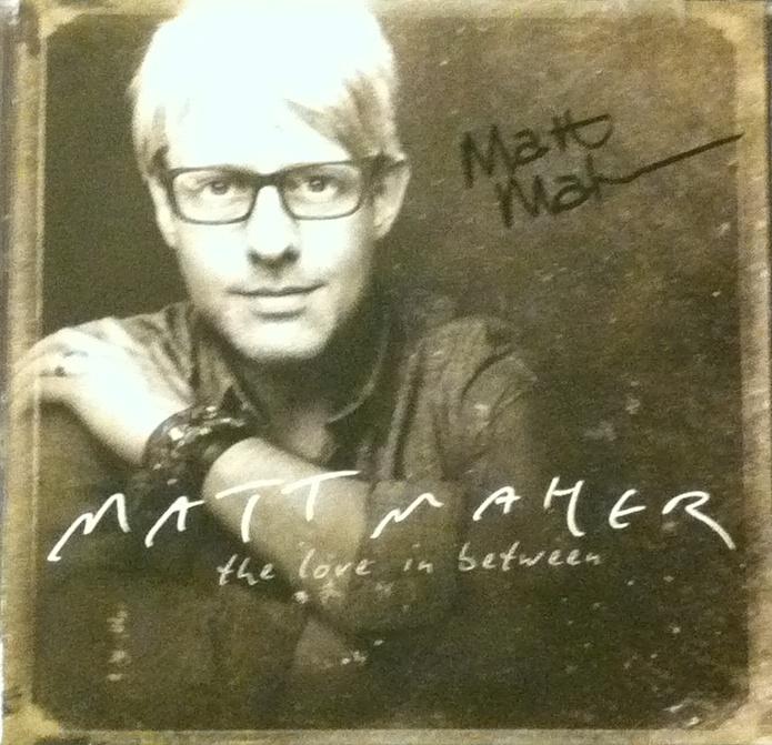 """Broke open (Review: Matt Maher's """"The Love in Between"""")"""