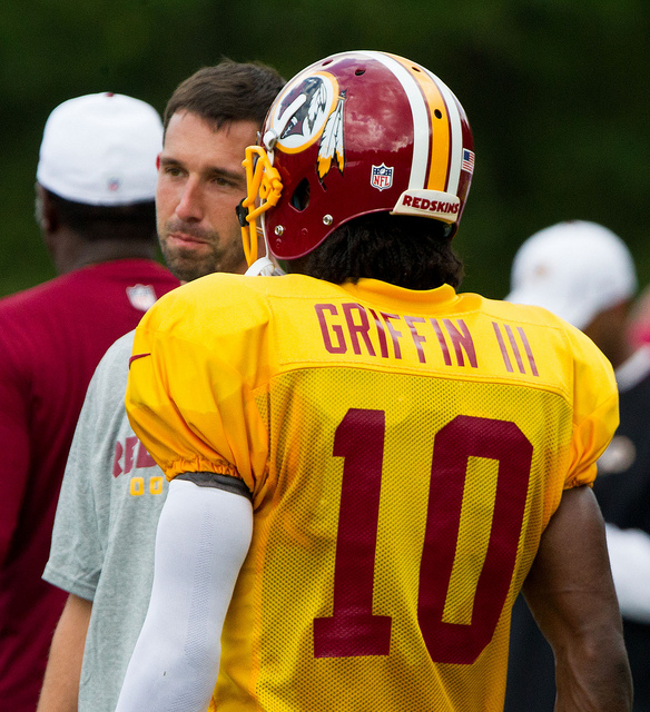 Is Robert Griffin III Catholic? Why This Question Matters.