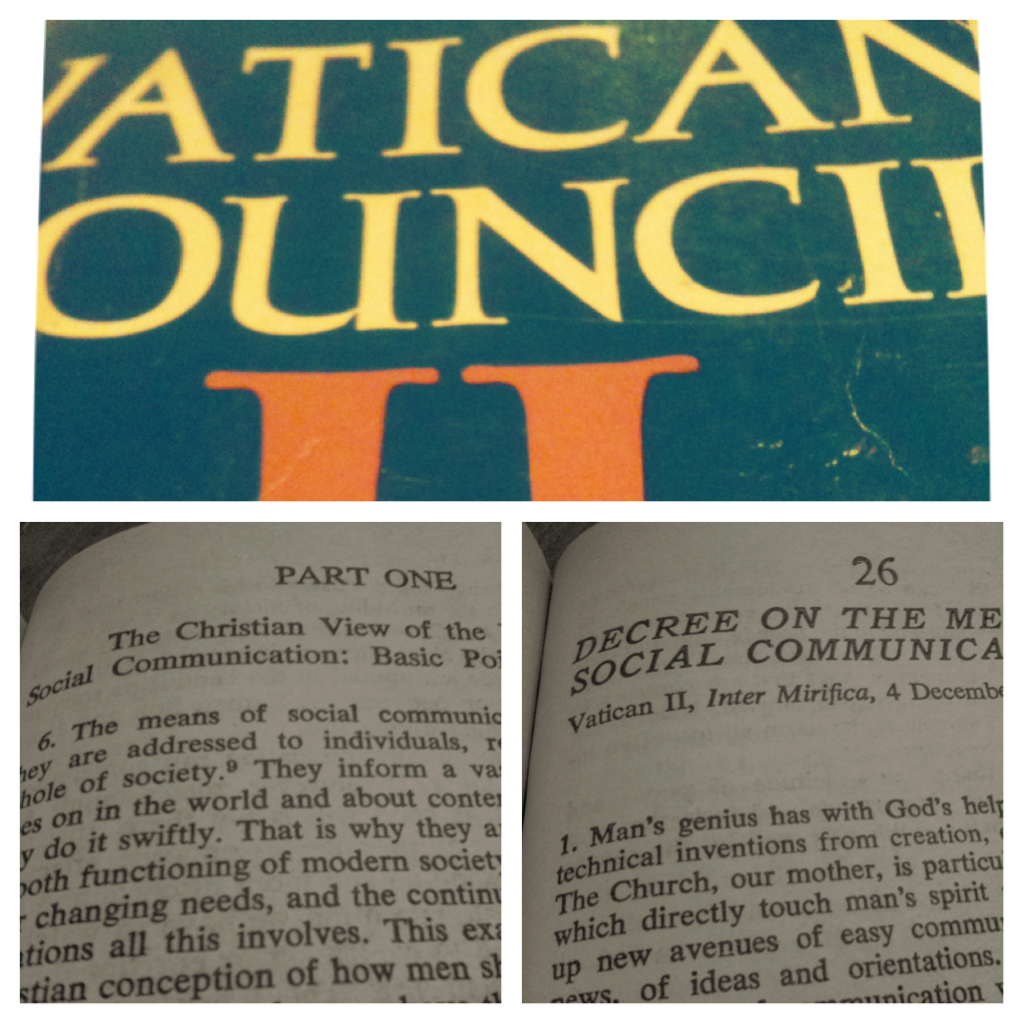 Vatican II & Social Communication