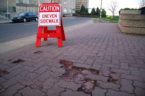 Cracks in the Sidewalk