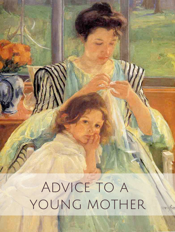 advice for a young mother