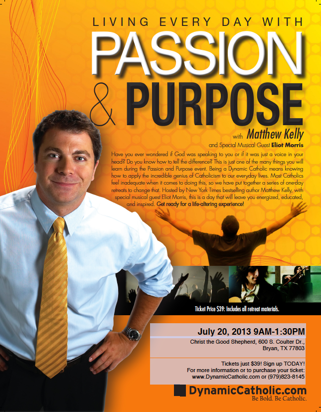 MATTHEW KELLY: Passion & Purpose Live!