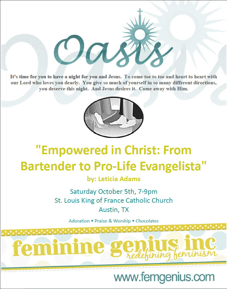 Oasis Retreat: Empowered In Christ