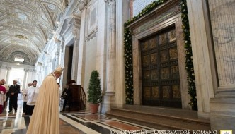 Pope Francis' Holy Year of Mercy Message