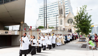"Corpus Christi Procession: ""Where the Body is, there the eagles will be gathered together"" (Part 4)"
