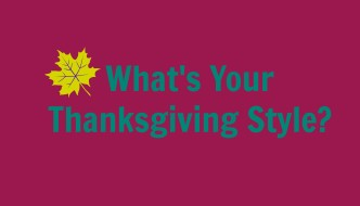 What's Your Myers-Briggs Thanksgiving Style?