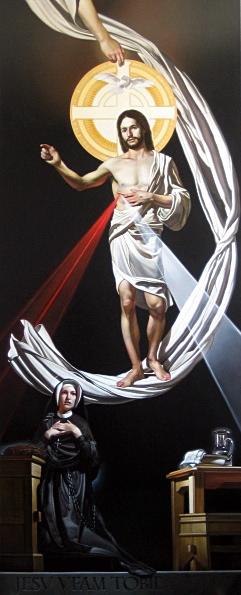 St Faustina and Divine Mercy - Buchanan