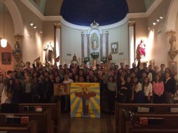 CARITAS 2016 at San Jose Church, which the missionaries called home for the week!