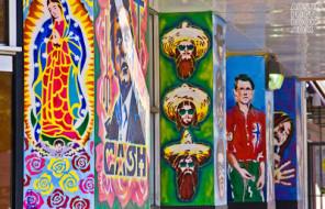 From Austin Graffiti Austin Frederico Achuleta (http://www.austinphotobook.com/2011/02/26/austin-mural-tour-keeping-austin-weird-with-street-art/)