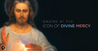 Gazing at the Icon of Divine Mercy