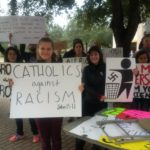 Resist like a Catholic II: protesting Neo Nazi-ism with the Aggies