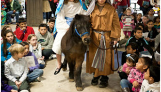 """Live"" Christmas Posada at Community First! Village"