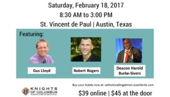 2017 Catholic Men's Conference – Feb 18