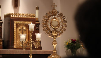 Note to Jesus in the Blessed Sacrament